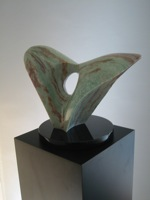 'Whale's Tail' - sculpture by Mac Coffey